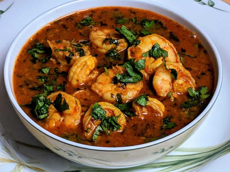 Chennai Shrimp Curry
