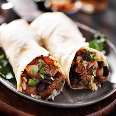 SAMPLE. Chicken Burrito