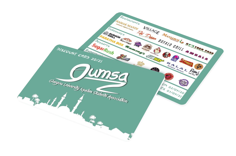 GUMSA Discount Card 2020/21