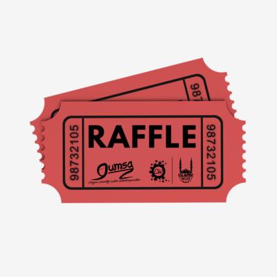 Charity Week Raffle Ticket