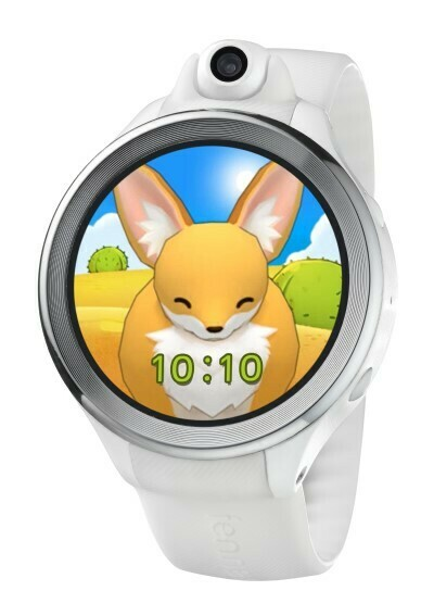 Fennec Watch One (White) - phone/video calling, safe chatting, GPS, rotatable camera