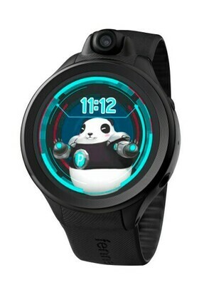 Fennec Watch One (Black) - phone/video calling, safe chatting, GPS, rotatable camera