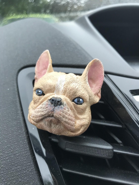 French Bulldog Car Air Freshener Vent Clip