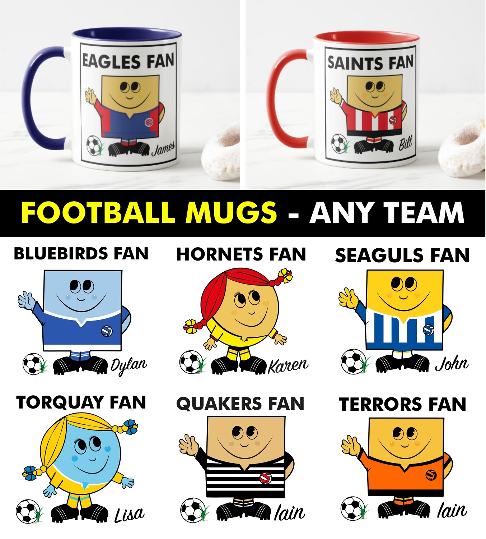 Football Fan Mug (Any Team)