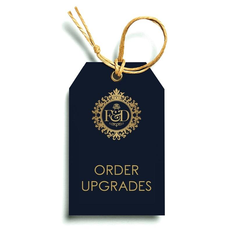 Order Upgrades