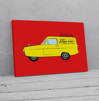 Personalised Only Fools & Horses Style Van  Print / Canvas / Framed