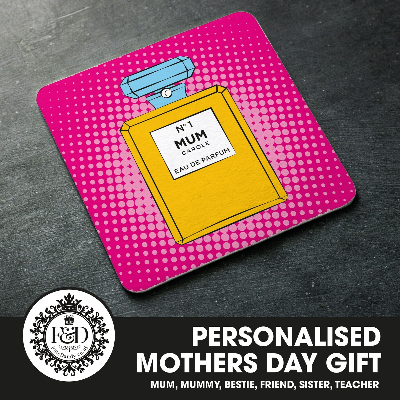 Personalised Coaster - Perfume Theme