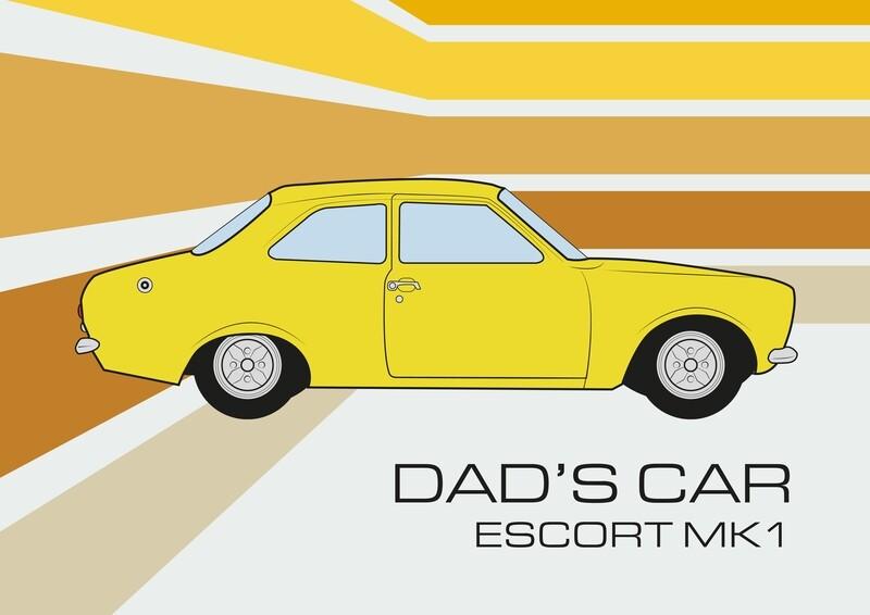 Ford Escort MK1 - Dads Car. First Car. Classic Car