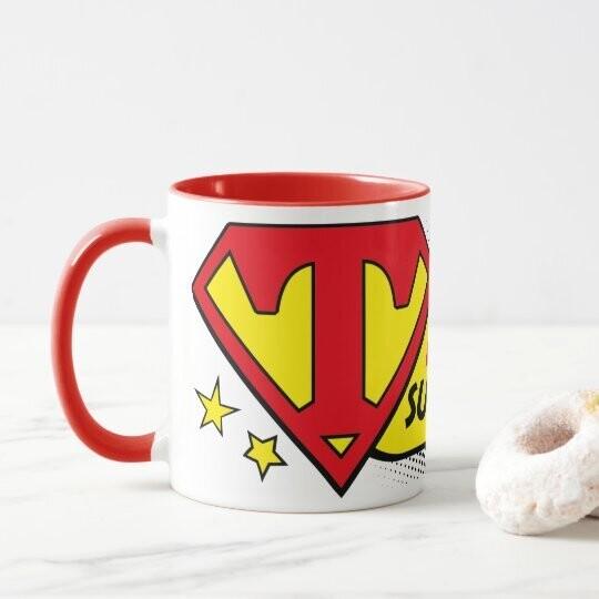 Personalised Super Teacher Mug