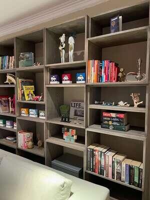 Cube bookshelf