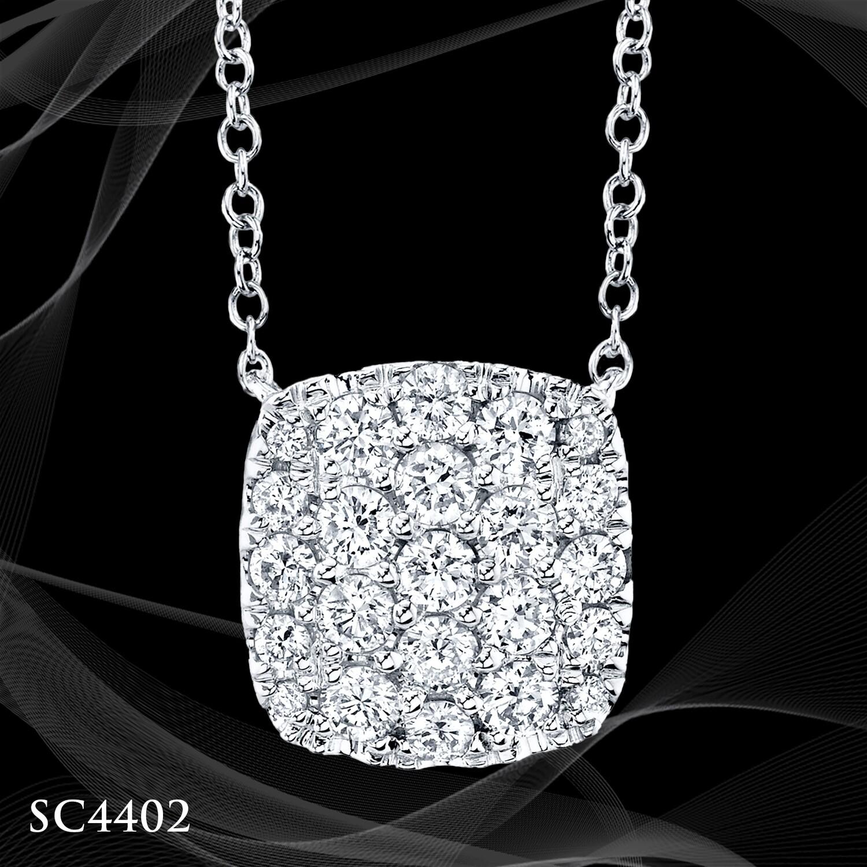 14 Karat White Gold Pendant