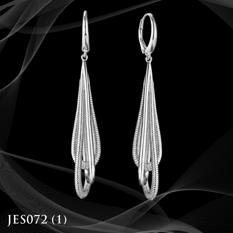 Judith Ripka Sterling Silver Teardrop Earrings