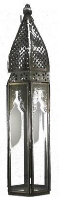 Metal Mirrored Morocan Lantern