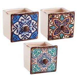 Ceramic Drawer Planter Trinket Box