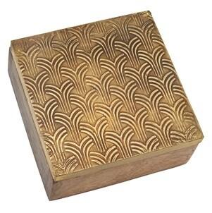 Gold Art Deco Trinket Box