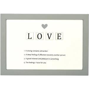 Letter Tiles Defin Sign-Love