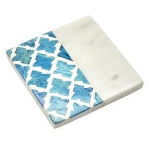 Cordoba Blue Marble Coaster