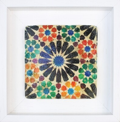 Alicatados Alhambra Geometric Moorish Design Stone Art