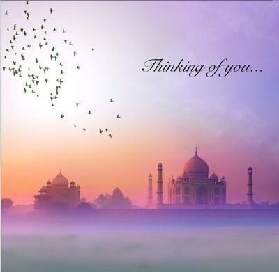 Thinking of you - Taj Mahal Greeting Card