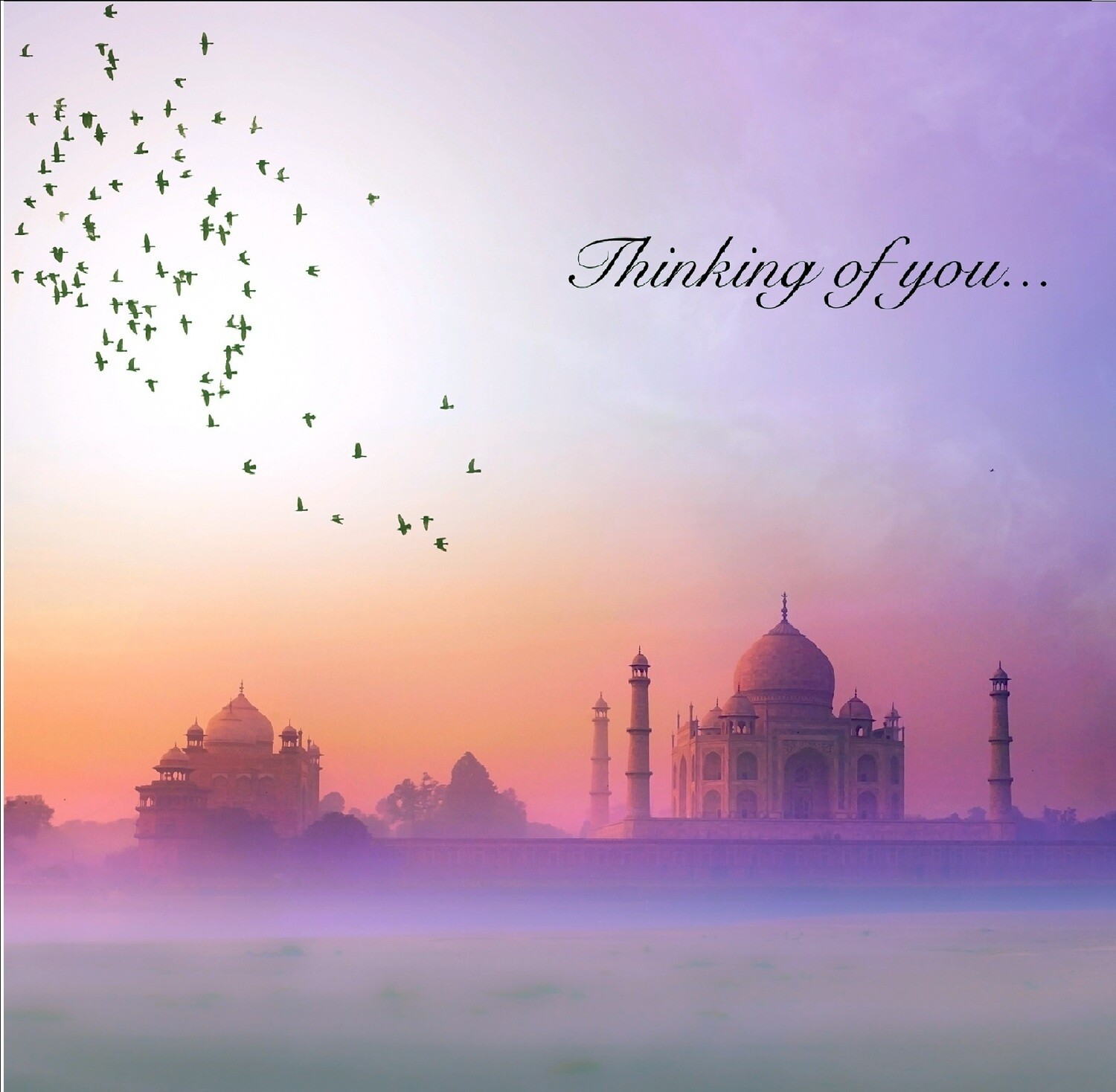 Thinking of you - Taj Mahal Greeting Card