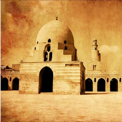 The Mosque of Ibn Tulun Greeting Card