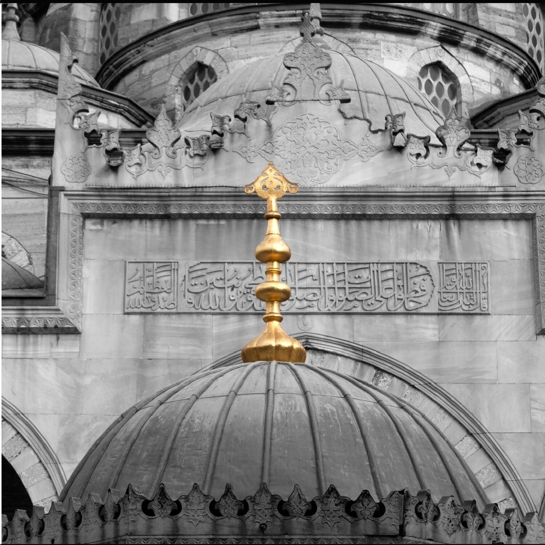 The Yeni Camii Greeting Card