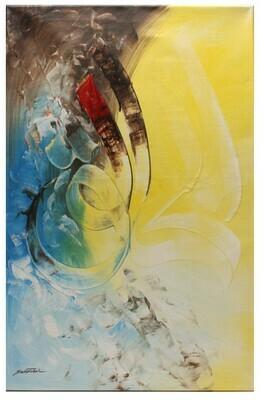 Al Khaliq Abstract Original Hand Painted Canvas