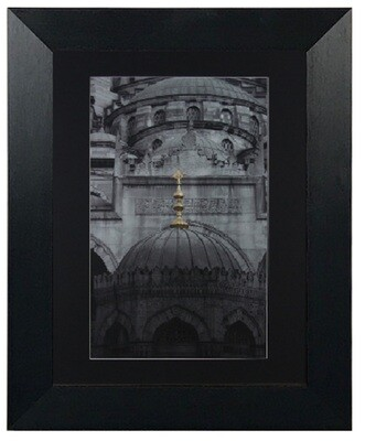 Turkey Islamic Architecture Framed Art in a Cream Distressed Frame The Yeni Camii