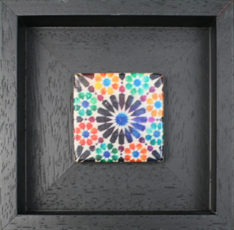 Alicatados Alhambra Geometric Moorish Design Stone Art