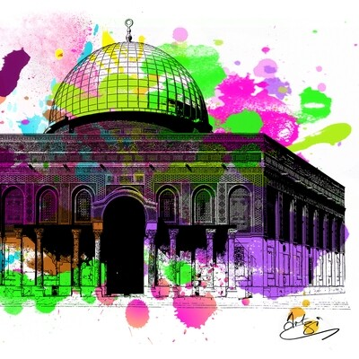 Dome of Love - Greeting Card