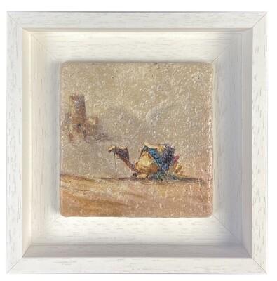 The Lone Camel Stone Art