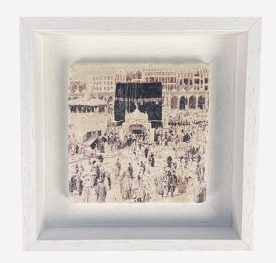 The Kaaba circa 1887 Stone Art