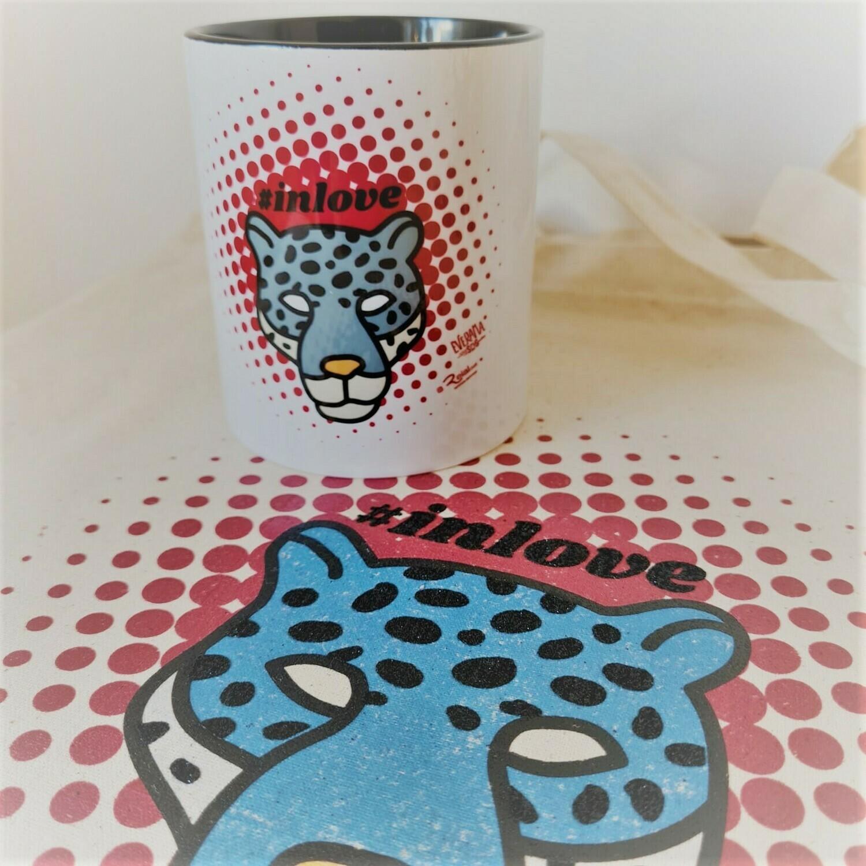 Pack Bolsa y Taza Jaguar