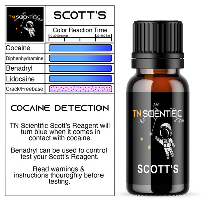 TN Scientific | Scott's Reagent Testing Kit ~