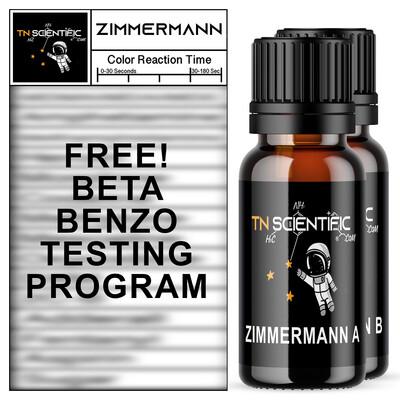 TN Scientific | FREE Zimmerman Reagent BETA BENZO TESTING Program ~