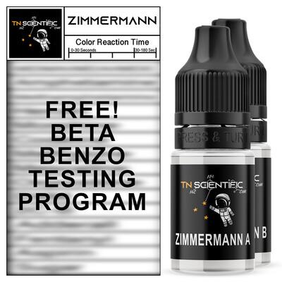 TN Scientific | FREE Zimmerman Reagent BETA BENZO TESTING Program