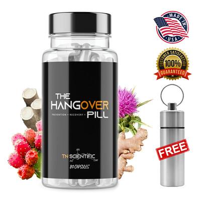 TN Scientific | The Hangover Pill | 80 Count w/ Pill Holder
