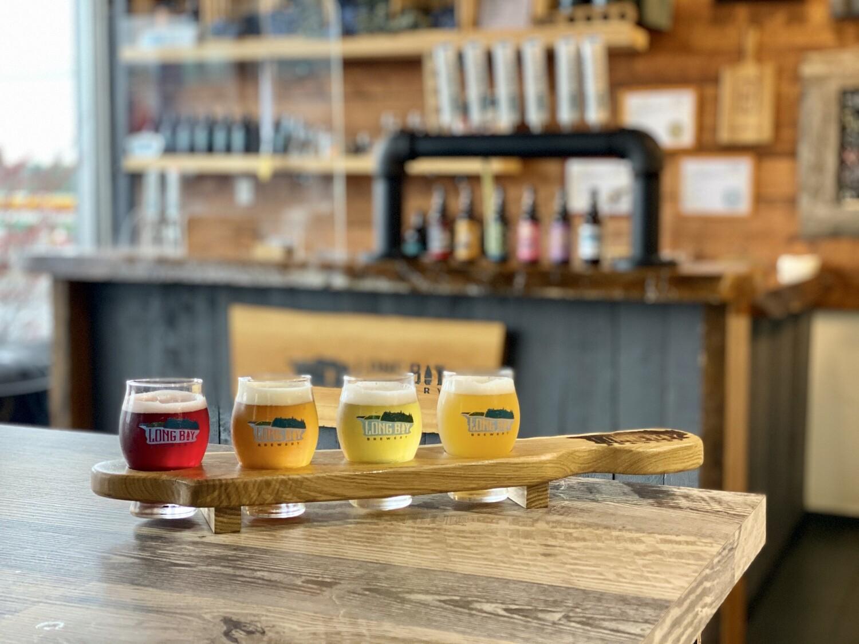 Long Bay Beer taster glass