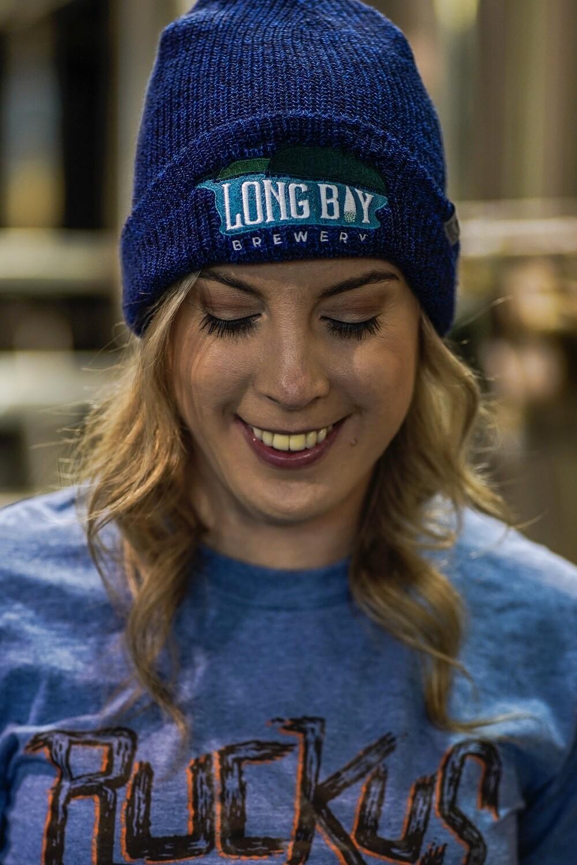 Long Bay Roots Winter Hat blue