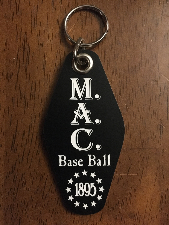 M.A.C. Retro Motel Key Tag