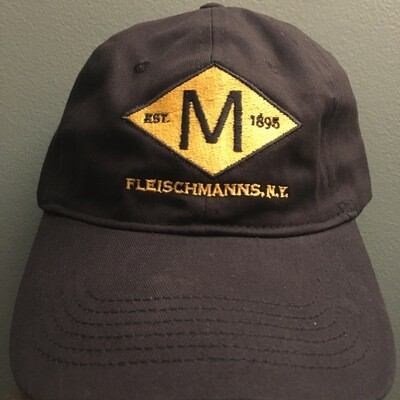 """M"" Diamond Embroidered Cap"