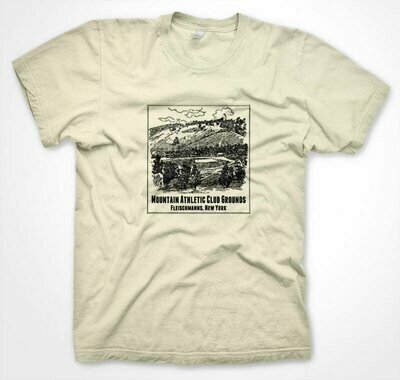Mountain Athletic Club Grounds 1899 Etching Tee
