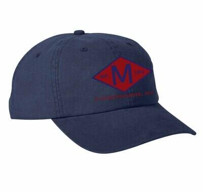 M.A.C. Diamond Canvas Cloth Ballcap