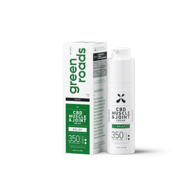 Muscle and Joint Relief CBD Cream - 350mg