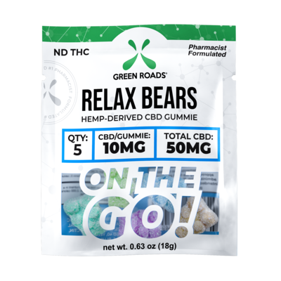 CBD Relax Bears - 50mg