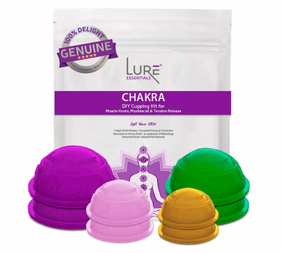 Chakra Cupping Therapy Set