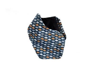 Diamond Pattern - Cotton Face Mask with Filter Pocket Pocket