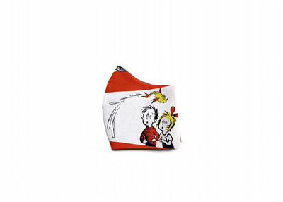 Dr. Seuss - Cotton Face Mask with Filter Pocket