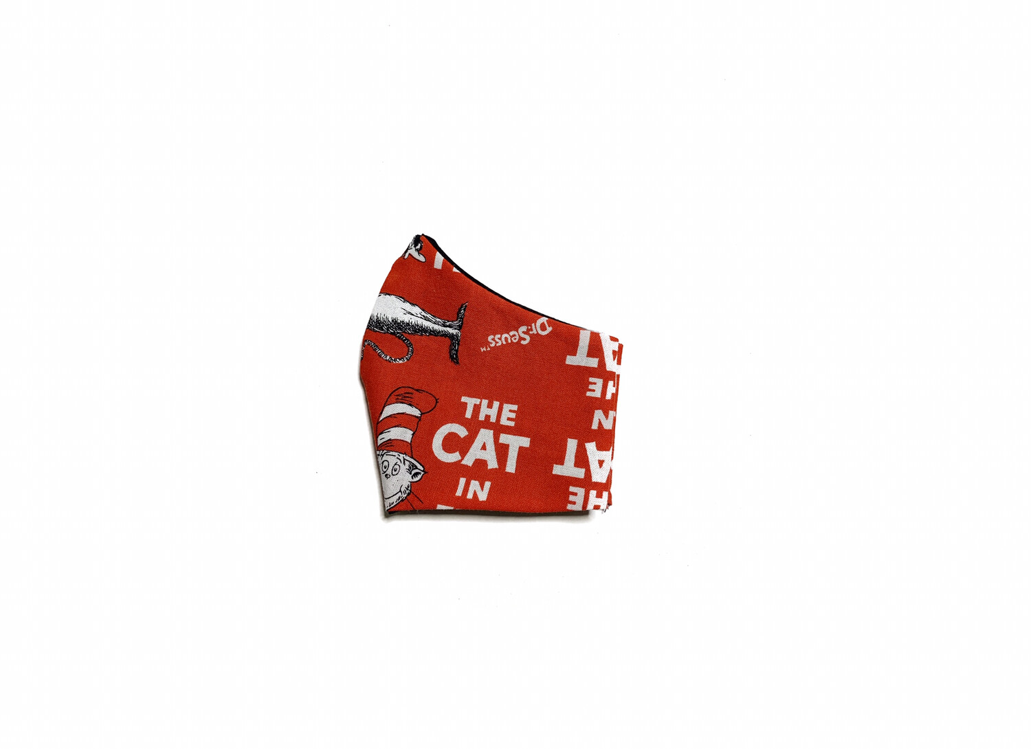 Cat in the Hat - Cotton Face Mask with Filter Pocket