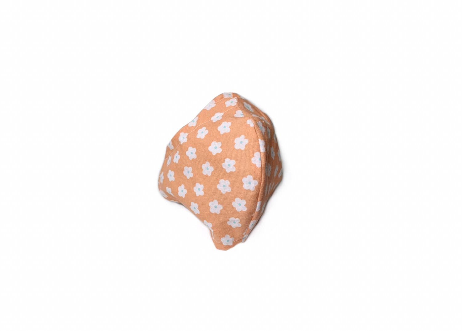 Coral Flowers - Cotton Face Mask  with Filter Pocket